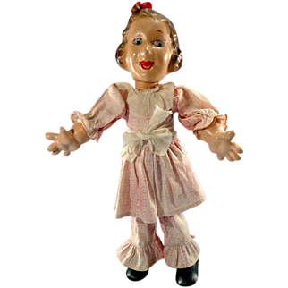 "Vintage Fanny Brice, Baby Snooks 12"" Doll"
