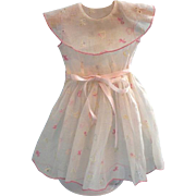 Lovely organdy Factory-made Doll Dress