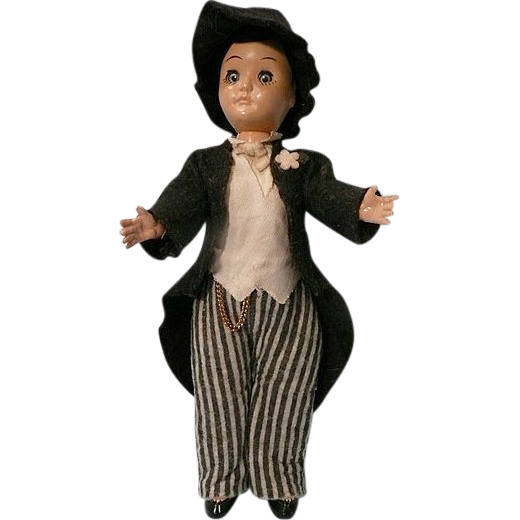 Vintage Plastic Groom Doll