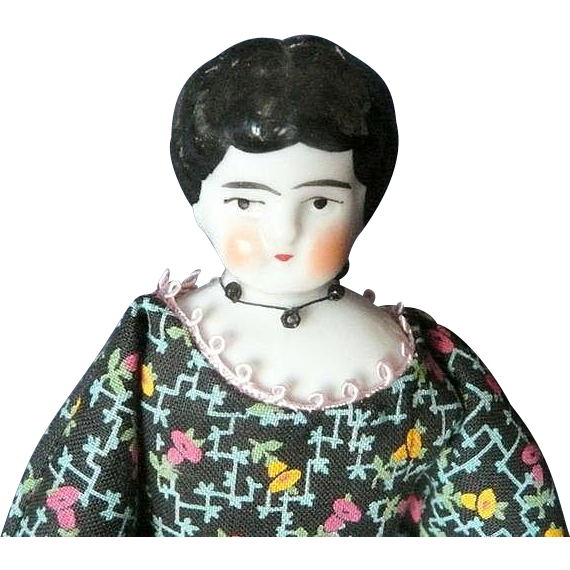 German China Head Doll House Doll