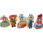 Hallmark Cards Nursery Rhyme Dolls