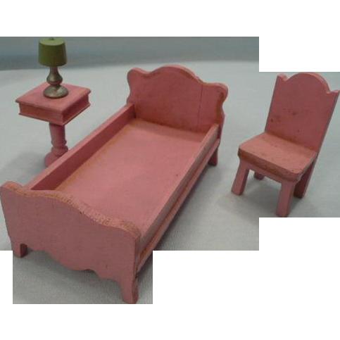 Strombecker Wooden Bed Room Furniture