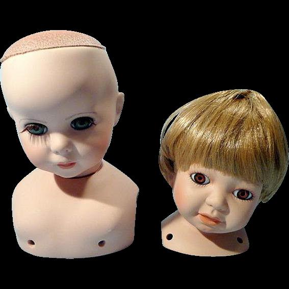 Bisque Doll Heads