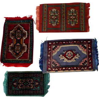 Four Doll House Rugs