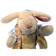 Hoppy Bunny in Musical Attire