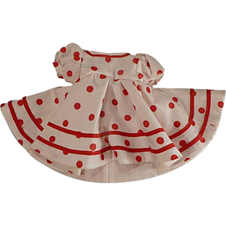 Shirley Temple-like Mommy Made Dress