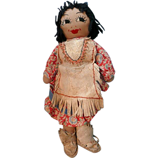 Amazing Native American Rag Doll
