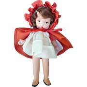 Jointed Nancy Ann Little Red Riding Hood