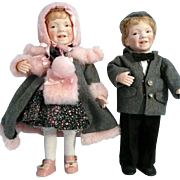 Linda Steele Artist Dolls Twins