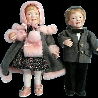 Linda Steele Artist Dolls Twins