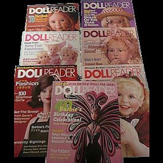 Seven Doll Reader Magazines