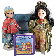 Madame Alexander Aladdin and Princess Budir Al-Budor