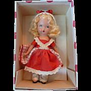 Nancy Ann Going a Milking Doll