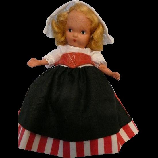 Nancy Ann Jointed Legs Dutch Doll