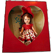 Nancy Ann Storybook Doll Vallentine Sweetheart Sleep Eyes