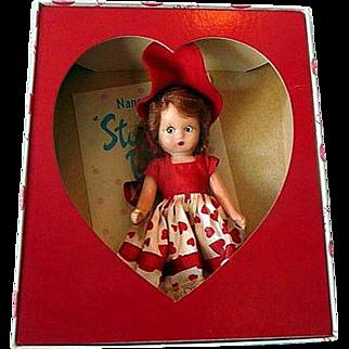 Nancy Ann Storybook Doll Vallentine Sweetheart Sleep Eyes
