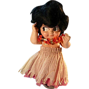 Adorable O-U-Kid Kewpie Carnival Doll
