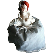 Porcelain Pin Cushion Half Doll