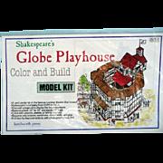 Globe Playhouse Model Kit