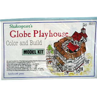 Globe Playhouse Model Kit