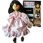 Raikes Book and Doll Molly