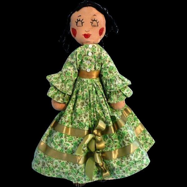 Homemade Rag Doll