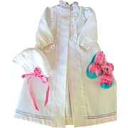 Three Piece Robe Set for Fashion Doll