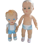 Made in U.S.A. Sun Rubber Dolls