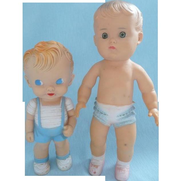 Made in U.S.A. Sun Rubber Dolls