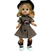 "Terri Lee Brownie 8"" Doll for Repair"