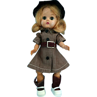 "Terri Lee Brownie 8"" Doll for Repair"