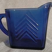 Hazel Atlas Cobalt Pitcher
