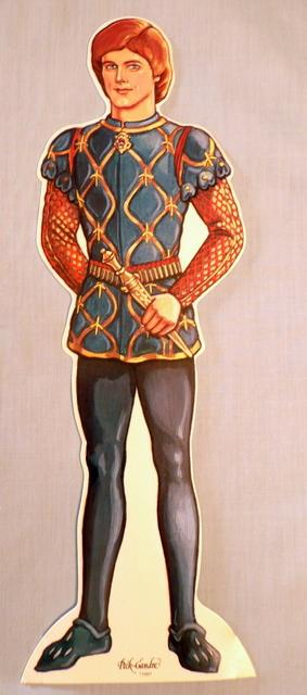 Prince Charming Paper Doll