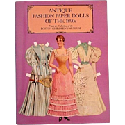 Fashion Paper Dolls 1890
