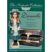 Danielle, 3-Dimensional Paper Doll and Keepsake Trunk, Uncut