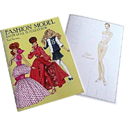 Two Fashion Paper Doll Books Uncut--Tyler Wentworth and Tom Tierney