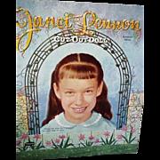 Whitman 1959 Janet Lennon Cut-Out Doll