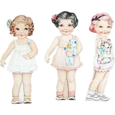 1936 Polly Pepper Paper Dolls