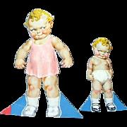 Scootles and Kewpie Paper Dolls 1936