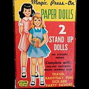 Magic Press-on Travel Paper Dolls