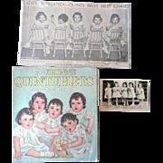 Dionne Quintuplets Memorabilia, 3 Paper items