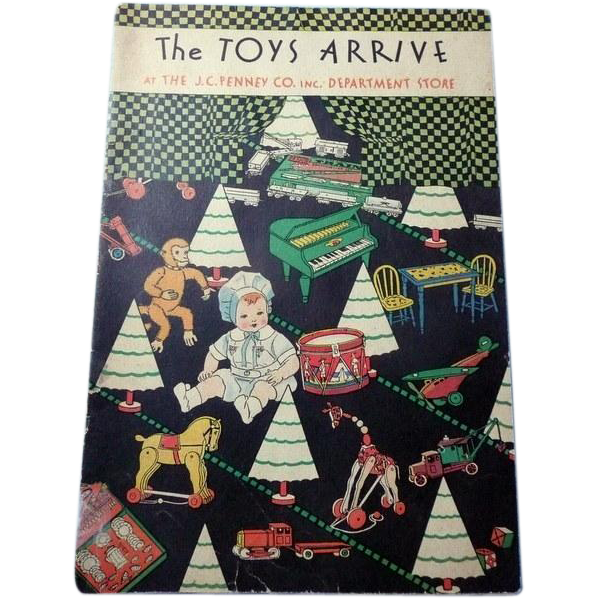 J C Penny's The Toys Arrive 1930 Magazine