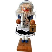 Signed Steinbach Miniature Nutcracker Alice in Wonderland