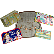 Advertising Needle Packets and Button Bag