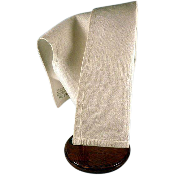Vintage Nurses Uniform Cap Hat Blue Yellow Stripe Kays