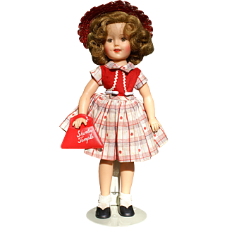 """12"""" Vinyl Shirley Temple by Ideal, 1957"""