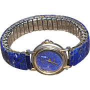 Lapis Watchband Bracelet and Watch