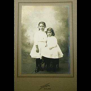 Victorian Sisters in Studio Setting