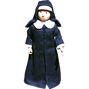 """9 1/2"""" Nun Doll from """"Madeliene """" books"""