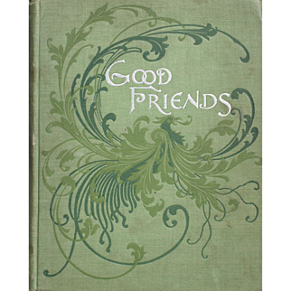 19th Century Children's Book, Color Illustration